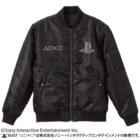 "MA-1/""PlayStation"" BLACK【COSPA】"