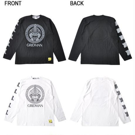 『SSSS.GRIDMAN』グリッドマン メアンドロス ロングTシャツ【backside of tokyo】