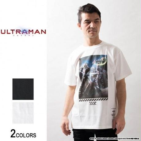 『ULTRAMAN』 ウルトラマン セブン エース キービジュアルTシャツ(男女兼用)【backside of tokyo】