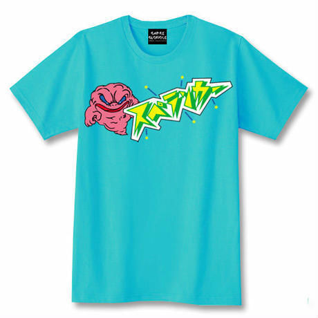 スペランカー GHOST Tシャツ(ミントグリーン)【GAMES GLORIOUS】