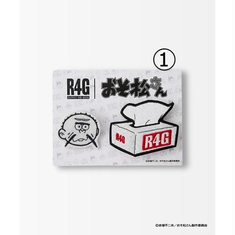 おそ松さん LOVE OSOMATSU ワッペンバッチ【R4G】