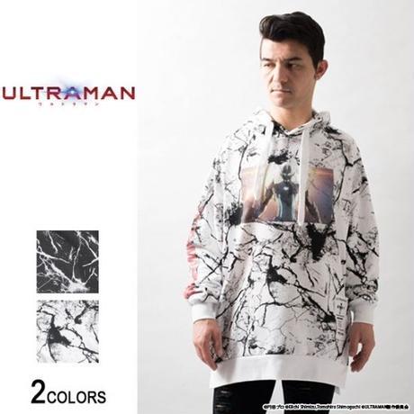 『ULTRAMAN』 始まりの敵 ベムラー サイドジップ・クラック・パーカー(男女兼用)【backside of tokyo】