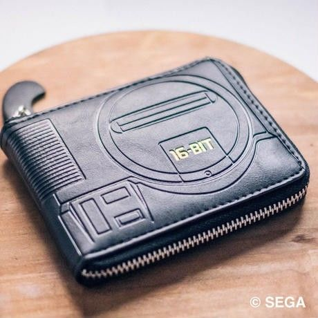 MEGA DRIVE 型押しレザーウォレット【GAMES GLORIOUS】