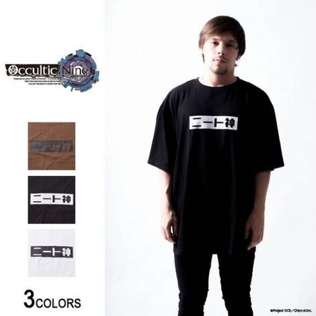 「ニート神」ビッグTシャツ【backside of tokyo】