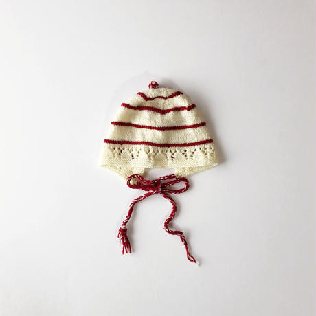 stripe knitting hat