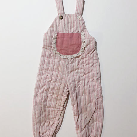 quilted overalls