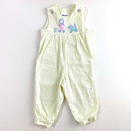 pastel corduroy overalls