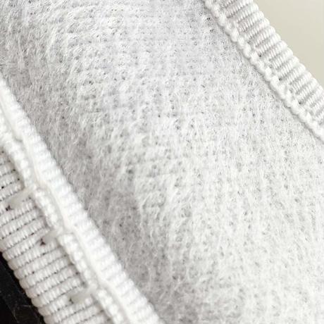 Sciuscià BABY&KIDS shoes_LEOPARD/WHITE CANVAS/YELLOW VELVET/WHITE FUR