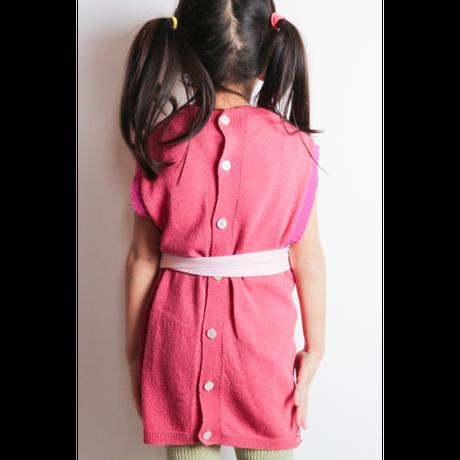 LIGNE NOIRE ENFANTS_ TARTAN DRESS (Yellow/Red)