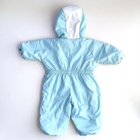 baby blue snow suit