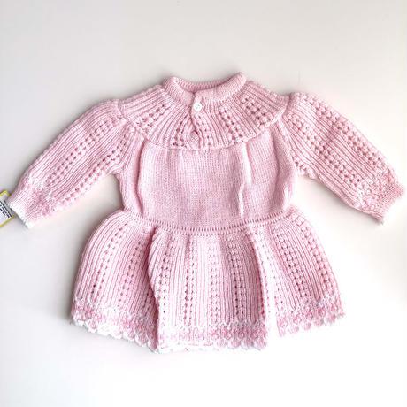 pink knitting dress (dead stock)