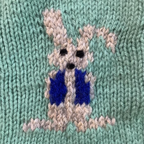 rabbit nitting romper