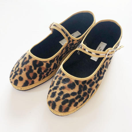 Sciuscià LADYS shoes_LEOPARD/DEEP FORST×BEIGE