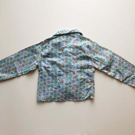 flower textile pajamas