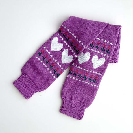 knitting leg warmer (dead stock)