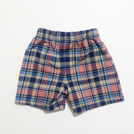 plaid pants_navy