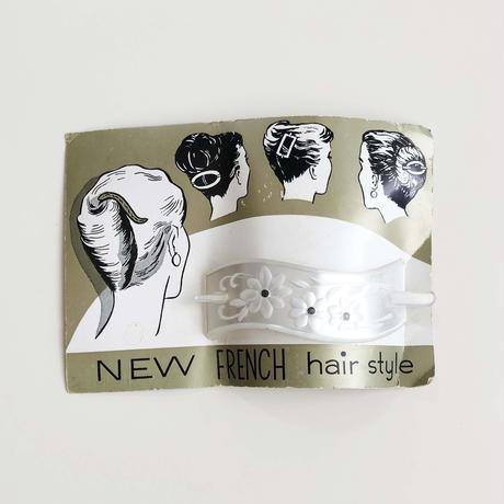 50s flower hair clip (dead stock)