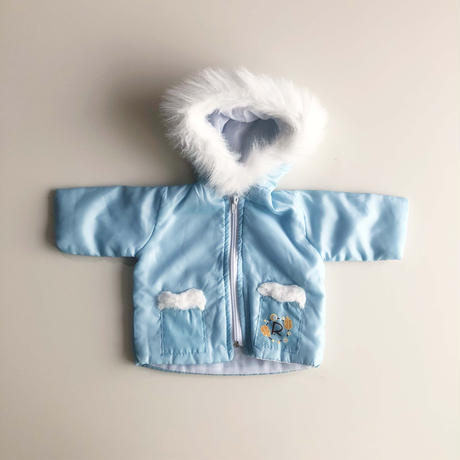 80s foodie fur  jacket (dead stock)