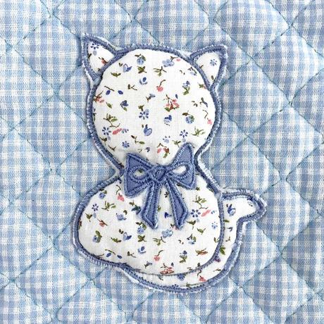 cat quilted flea pants (dead stock)