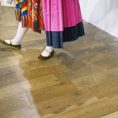 Sciuscià LADYS shoes_ LEOPARD,WHITE FUR