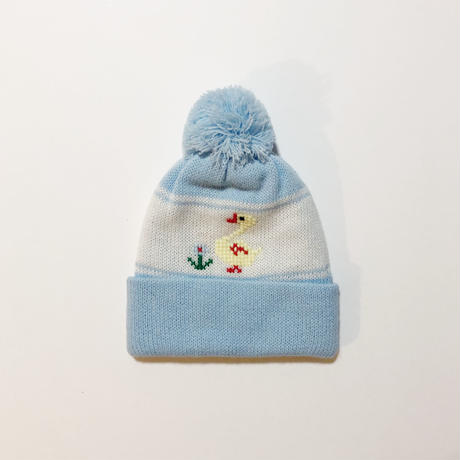 knitting hat & mittens (dead stock)