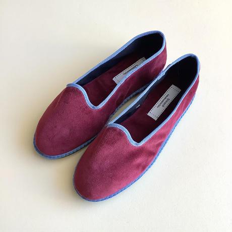 Sciuscià LADYS shoes_RED BROWN×LIGHT BLUE