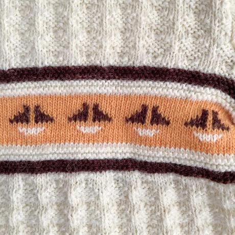 sailor knitting cardigan