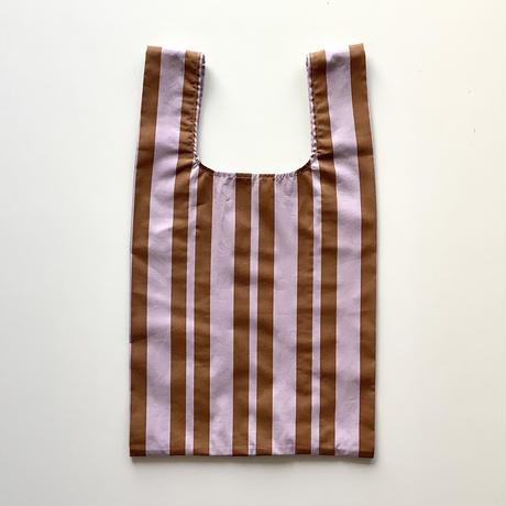 mė stripe bag_Lavender×Cinnamon