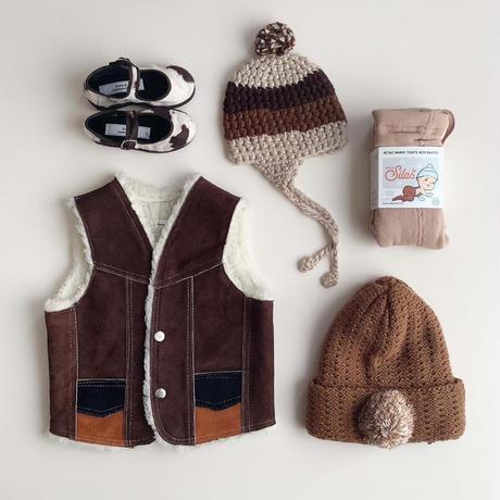 camel knitting hat (dead stock)