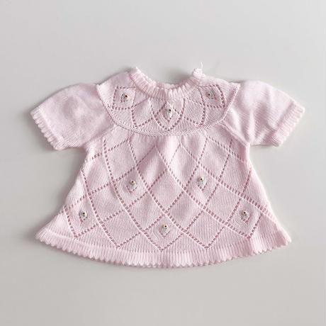 knitting flower tops