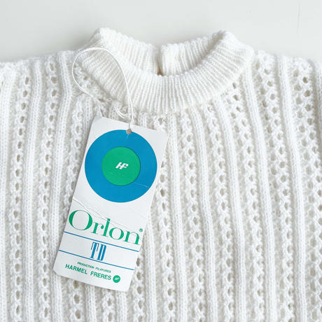 70s crochet tops (dead stock)