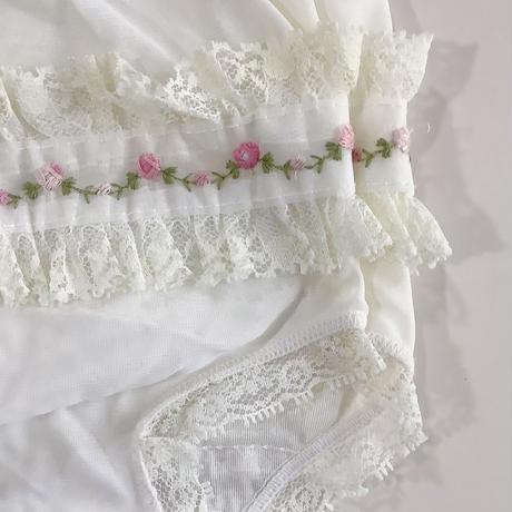 flower lace pants