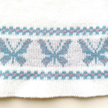 butterfly knitting tops