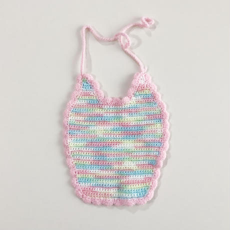 crochet bib