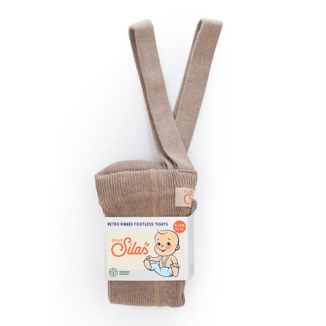 SILLY Silas Footless Collection_Peanut Blend