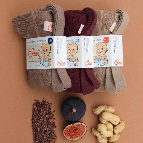 SILLY Silas Footless Collection_Cacao Blend