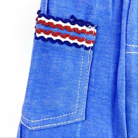 70s flea pants_blue (dead stock)