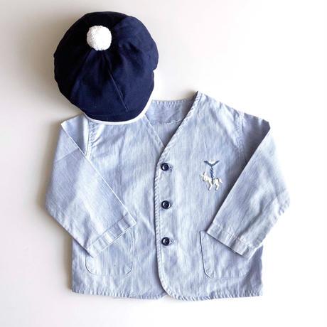 embroidery stripe jacket