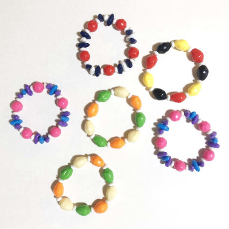plastic beaded bracelet_4