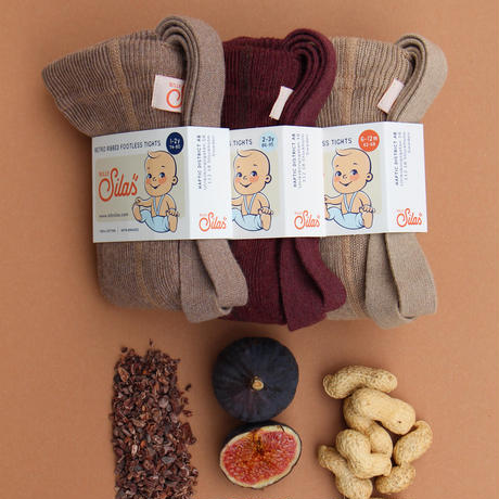 SILLY Silas Footless Collection_Fig Blend