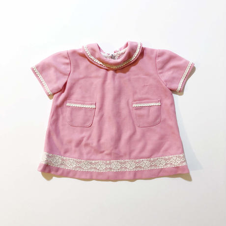 60s pink race onepiece