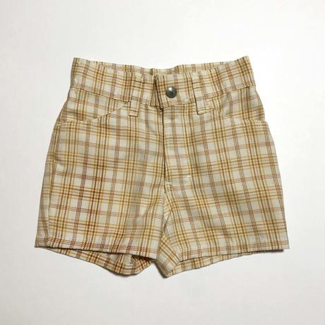 60's mustard plaid pants