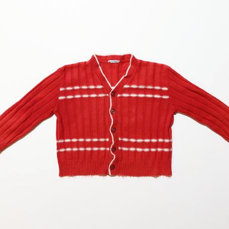 60s knitting cardigan