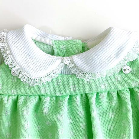 70s blouse&flea pants outfit (dead stock)