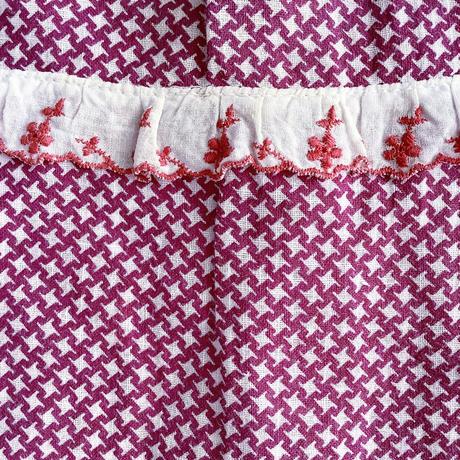 60s textile dress