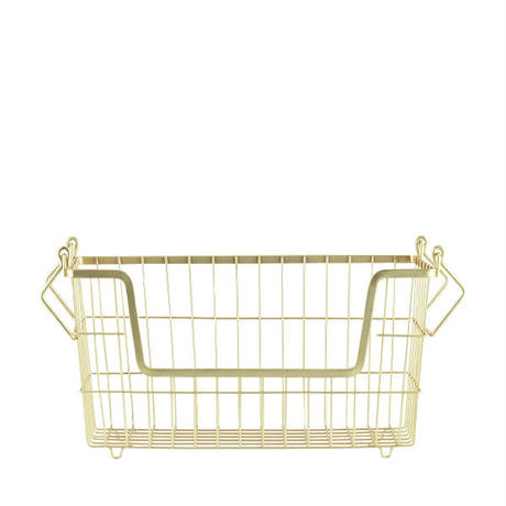 house doctor Basket(S) Gold / ハウスドクター バスケット (S) ゴールド