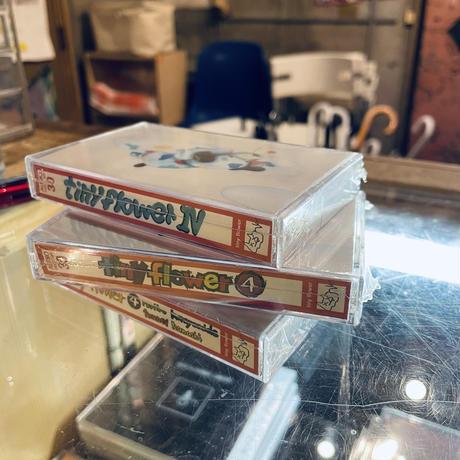 tinyflower『tinyflowerⅣ』 ダウンロードコード付き cassette