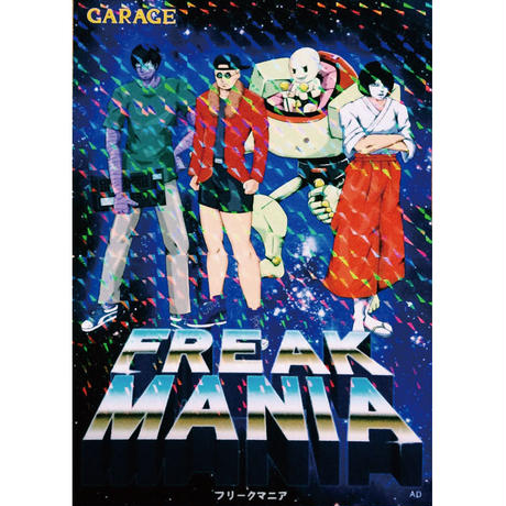 "AD PARTY #07 ""FREAK MANIA"" ステッカー"