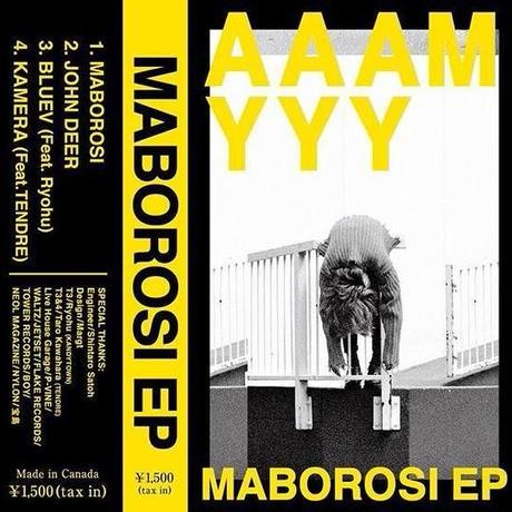 AAAMYYY『MABOROSI CASSETTE EP』