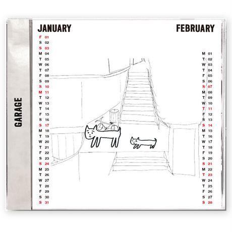 【残りわずか】GARAGE 2021みんなのイラストカレンダー